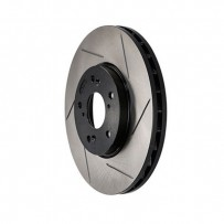 StopTech Power Slot 05-14 STi Front Left Slotted Rotor