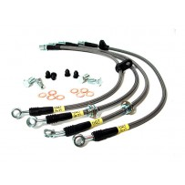 Stoptech 08-14 WRX & STi Stainless Steel Front Brake Lines